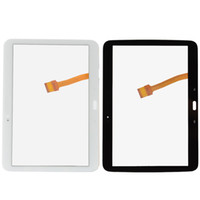 Wholesale For Samsung Galaxy Tab P5200 P5210 Touch Screen Digitizer Glass Panel Front Glass Lens Replacement Parts