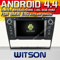 car dvd player - WITSON Built in GPS Car DVD Player Inch Bluetooth Android Car Radio DVD Player for BMW BMW E90 Built In GB Inand Hot Sale A6913