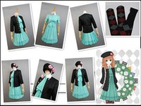 amnesia cosplay - 2015 Real Promotion Freeshipping Adult Unisex Halloween Costumes for Fantasia Infantil Amnesia Heroine Uniform Cosplay Costume