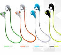Wholesale Wireless Bluetooth Headphone with Micro QCY QY7 Wireless Bluetooth Earphone Fashion Sport Running Headphone Studio Music Headset