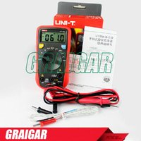 Wholesale Handheld Auto ranging Digital Multimeters UNI T UT136C Data Hold LCR Meter AC DC Frequency Resistance automatic range multimeter