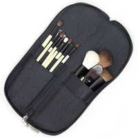 Wholesale new set Professional brush with leather pouch DHL EMS Free