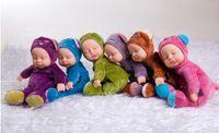Wholesale 2015 NEW Reborn Baby Bieber baby cm sleep plush dolls lovely bear and rabbit dol Gifts for childrenl