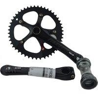 best cranks - Prowheel Retro Racing Cranksets Best T Single Speed Fixed Gear Bikes Crankset Vintage Bike Crank on Sale D4