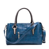 barrel satchel - 2015 new fashion handbags barrel crocodile Pu single shoulder bag hand SATCHEL BAG handbag factory direct sales of large capac