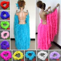 Wholesale New Arrivals Festive Party Cosplay Supplies Marabou Feather Boa For Fancy Dress M JI9