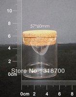 Livraison gratuite -100ml tube de verre gros avec flacons liège, verre. bocal en verre, grand, bouteille souhaitant, 0,6 ml, 1 ml jusqu'à 1000 ml est disponible