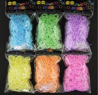 Cheap 5-7 Years rainbow loom bands Best Multicolor Plastic Bracelets