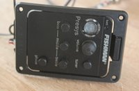 Wholesale quality goods Guitar Pickups Fishman Presys Built in Tuner Preamp System of Acoustic Guitar