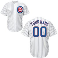 custom baseball jersey - Custom Baseball Jerseys Chicago Cubs White Home Jersey Customized Personalized Jersey Starlin Castro Jon Lester