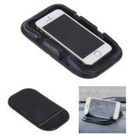 Wholesale Car amte slip resistant pad car slip resistant car cell phone pad double slot gps navigation mount promotion ZM00040