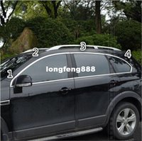 Wholesale high quality Stainless Steel window decoration strip trim sticker cover For Chevrolet Captiva