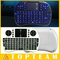 android or ipad - New Arrivel Rii i8 Fly Air Mouse Keyboards Intelligent Control Wireless Portable Mini Keyboard For PC Tablet Android TV Box Freeship