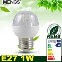 golf ball led - MENGS E27 W LED RGB Light SMD LEDs ES Golf ball Globe Lamp Bulb