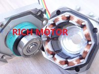 Cheap 2PCS 35mm 35H20HM 2-Phase 4-Wire Hybrid Type Step Angle Of 0.9 Degrees High Torque Stepper Motor 3D Printer Stepper Motor