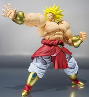 bandai plastic models - New Arrival Original Bandai Limited Edition S H Figuarts Super Saiyan Broly SHF Action Figure Brolly Model Toy Children Gift