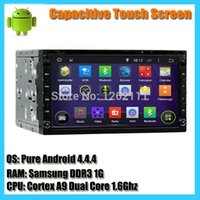 mp3 mp4 touchscreen - Capacitive Touchscreen din Android Dual Core G universal car dvd player car gps navigation system with map wifi