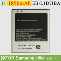 galaxy s battery - BEST T989 Battery EB L1D7IBA For Samsung Galaxy S II Hercules T989 mAh Li ion Battery High Quality