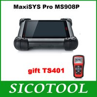 Wholesale 100 Original AUTEL MaxiSYS Pro MS908P AUTEL MaxiDas Maxisys pro DS708 Diagnostic System with WiFi