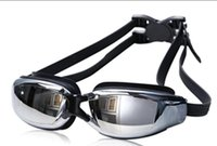 Wholesale Brand New Men Women Anti Fog UV Protection Swimming Goggles Professional Electroplate Waterproof Swim Glasses
