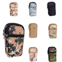 Unisex baseball mini clips - Mini Molle Modular Multifunctional camouflage Bag Outdoor Hiking Waist Utility Tool Pouch Phone bag w Belt Clip YH0042
