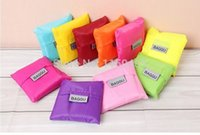 Wholesale The factory sells BAGGU square pocket shopping bag available reusable folding handle nylon Bag