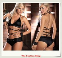 baby doll club - New sexy lingerie underwear sexy club wear baby doll free size SS68888 black