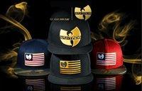 Wholesale-2015 Nueva Wu Tang caliente Snapback sombreros superior Hip Hop de la moda ajustable de béisbol Strapack wutang Caps hueso barato en línea del envío libre