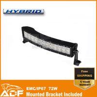 utv - Cree W Curved LED Light Bar car Work Light driving light lamp For Jeep x4 SUV ATV UTV