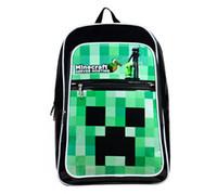 Wholesale Christmas Gift Minecraft Backpack Game My World Children School Bags Kids Boys Mochila Double Shoulder Bag Block Coolie Strange