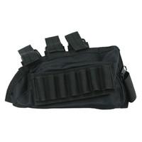 Wholesale Funpowerland Good QualityBlack Color Shotgun Buttstock Shell Holder Cheek Rest