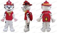 2015 Nouveau costume de mascotte personnage de dessin animé Arrivée AM0621 adulte patrouille marshall de chien, robe de soirée