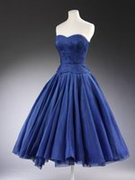 Cheap 2015 summer beach blue Homecoming Dress prom dresses under 100 sweetheart ball gown dress party evening satin short corset formal events L_Z