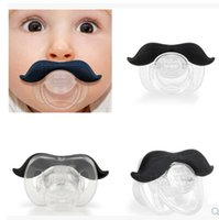 Wholesale New Arrival Hot Funny Black coffee Infant Baby Kid Child Pacifier Orthodontic Nipples Dummy Mustache Beard Baby Pacifier Care