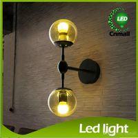 cafe lights - Wall Sconces Living Room LED Light Wall Sconce Glass Ball Wall Lamp Modo Wall Light Modern Lighting Cafe Lamp Living Room Dinning Room Lamp