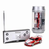 Wholesale New Mini Coke Can RC Radio Remote Control Micro Racing Car Hobby Vehicle Toy Birthday Gift TY1044