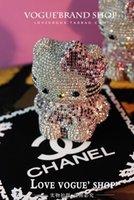 Wholesale luxury Diamond bling auto supplies incense Hello kitty outlet perfume car perfume seat