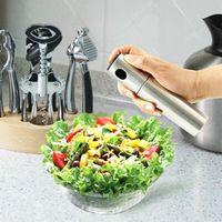 Wholesale Kitchen Cooking Food Olive Mist Sprayer Pump Bottle Oil Spray Stainless Steel