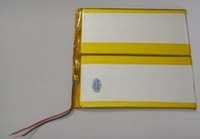 Wholesale 3 V mAh Polymer Li ion Lithium cell Lipo For GPS PSP iPod Tablet PC