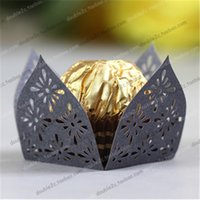 Wholesale Indian Style Chocolate Holder Three Colors Can Be Chosed Romantic Kitchen Cupcake Wraps You Wanted