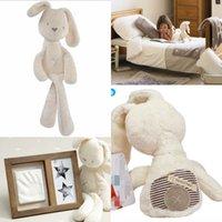 2015 Hot Cute Baby Dolls 50cm Mamas Papas lapin confort de couchage jouets en peluche Millie Boris lisse Obéissant Lapin sommeil Doll calme MYF22