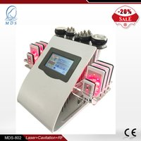 Wholesale High end weight loss massage machine with laser pads cavitation vacuum RF