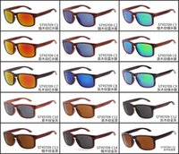 wood planks - 15 Colors Trendy Wooden Sunglasses Top Quality Classic Vintage Retro Hawksbill Wood Grain Eyewear UV400 Polarized Sunglases for Sport SGN010