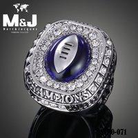 Venta NCAA Ohio State Buckeyes Blue Stone réplica Chamberlain anillos de campeonato réplica STR0-071