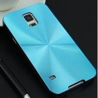 cd covers - Luxury Hard Aluminum PC Back Cover Thin Case Brushed Metal Case for Samsung Galaxy Note4 Note5 S6 Edge iPhone CD Lines