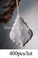 Wholesale 400Pcs mm Chandelier Crystal Maple Leaf Glass Crystals Wedding Party Decoration Fedex DHL Free ship