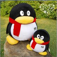 "Cheap 20cm 7.87"" New Child Home Decor Pillow Animals Family Penguins Stuffed Doll Plush Toy Doll Birthday Valentine Gift Boy"