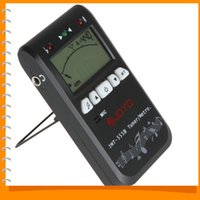 Wholesale JOYO JMT B Tone Generator in Digital Electronic Guitar Metronome Tuner for chromatic bass violin with LCD Backlight