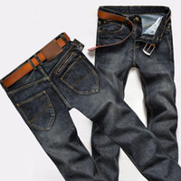 skinny jeans for men - Jeans Men New Arrival Male True Jeans style Denim Casual style Skinny Washed long Straight Jean pants for Man