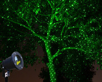 Wholesale New arrival R G Green Outdoor Holiday Waterproof Laser Lighting projector Sky star Landscape Light party Tree Garden Xmas DHL